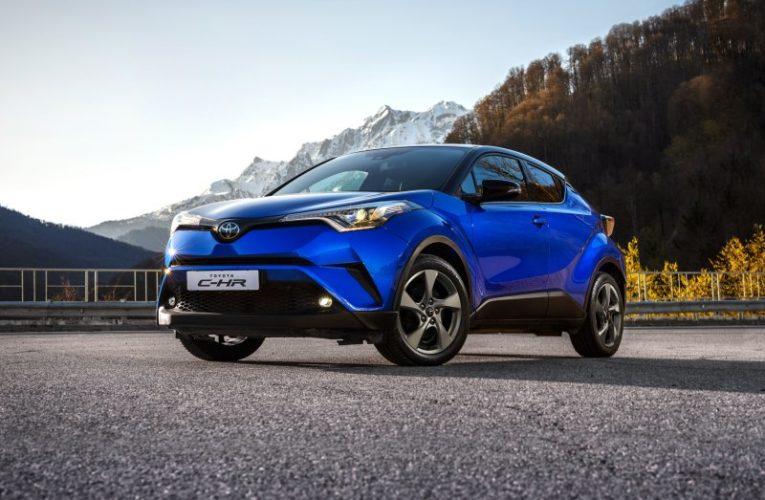 Тойота Центр Липецк представил новый вызывающий кроссовер Toyota C-HR